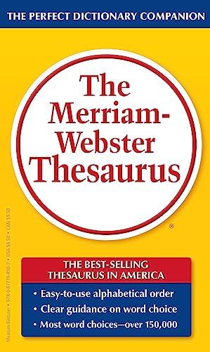 Merriam-Webster Thesaurus By Created by Merriam-Webster