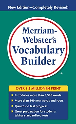 Merriam-Webster's Vocabulary Builder By Mary Wood Cornog
