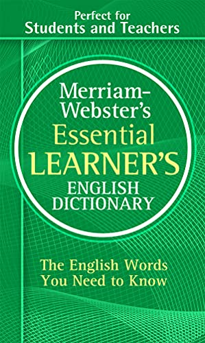 M-W Essential Learner's English Dictionary By Created by Merriam-Webster