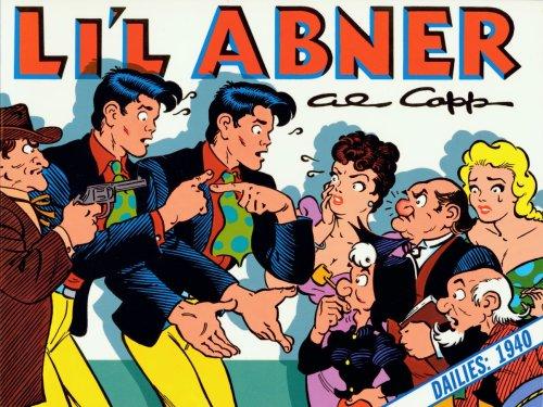 Li'l Abner Dailies 1938 By Al Capp
