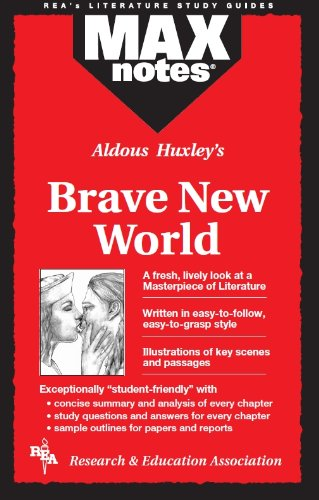 MAXnotes Literature Guides: Brave New World By Sharon Yunker