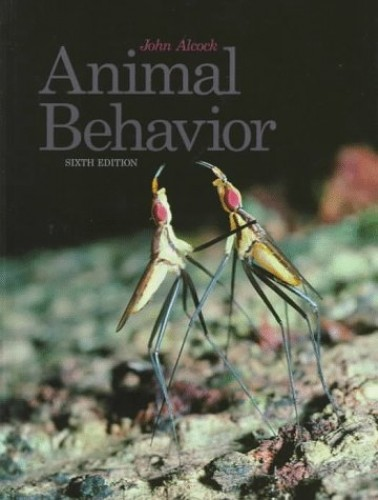Animal Behaviour By John Alcock