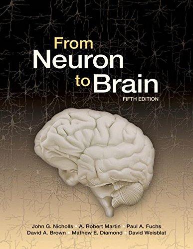 From Neuron to Brain (5th Ed) By John G. Nicholls
