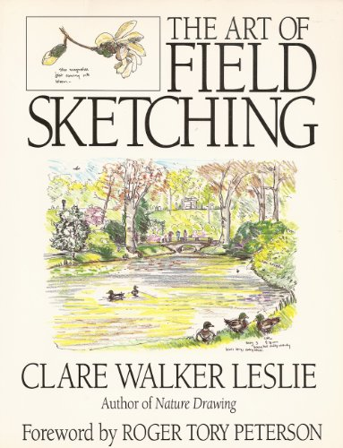 The Art of Field Sketching By Clare Walker Leslie