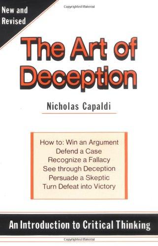 Art of Deception By Nicholas Capaldi