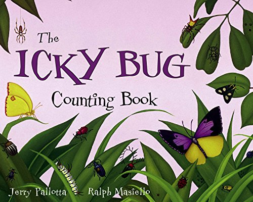 The Icky Bug Counting Book By Jerry Pallotta