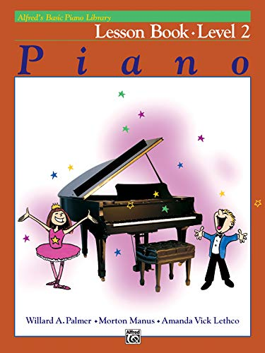 Alfred's Basic Piano Library Lesson Book, Bk 2 By Willard A Palmer