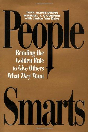 People Smarts By Tony Alessandra