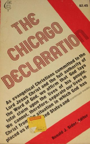 The Chicago declaration (New leaf library)