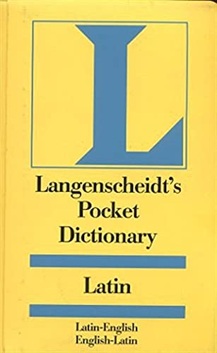 Latin Langenscheidt Pocket Dictionary By S A Handford