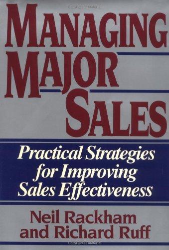 Managing Major Sales By Neil Rackham