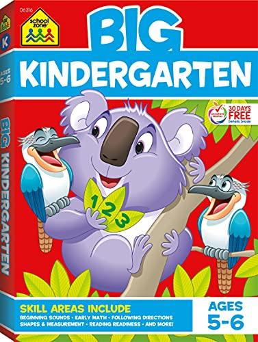 Big Kindergarten Workbook von School Zone Publishing