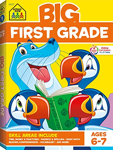 Big First Grade By Edited by School Zone Staff