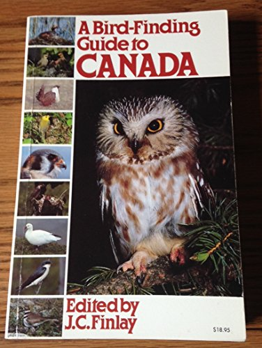 A Bird-Finding Guide to Canada By Finlay, Barbara