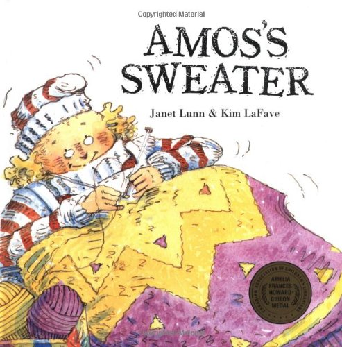 Amos-039-s-Sweater-A-Groundwood-Book-by-Lunn-Janet-088899074X-The-Cheap-Fast-Free