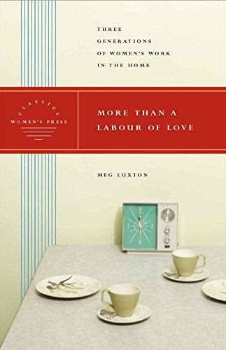 More than a Labour of Love - Women's Press Classics By Meg Luxton