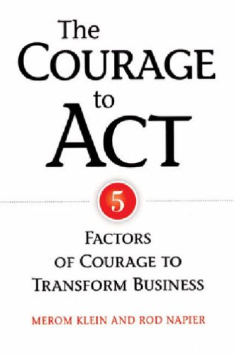 Courage To Act By Merom Klein