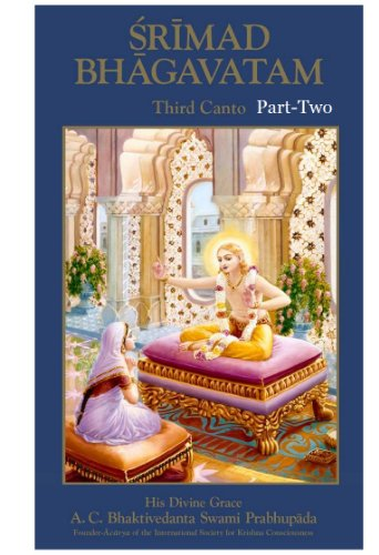Srimad Bhagavatam Third Canto Part Two (v.4) by A.C. Bhaktivedanta Swami Prabhupada (1999-01-01)