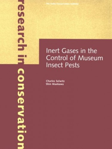 Inert Gases in the Control of Museum Insect Pests By Charles Selwitz