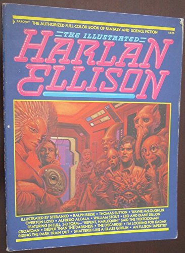 Illustrated Harlan Ellison By Harlan Ellison