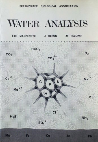 Water Analysis By F.J.H. Mackereth