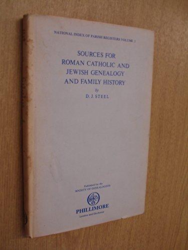 National Index of Parish Registers By Volume editor D.J. Steel