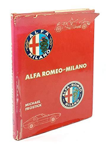 Alfa Romeo Milano By Michael Frostick