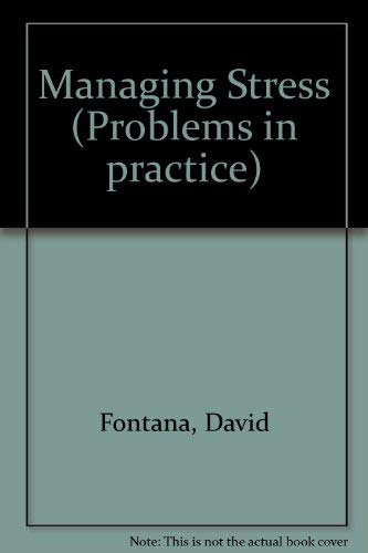 Managing Stress By David Fontana