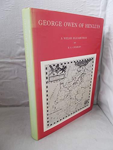 George Owen of Henllys By B.G. Charles