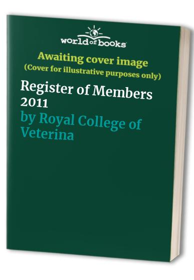 Register of Members By Royal College of Veterinary Surgeons