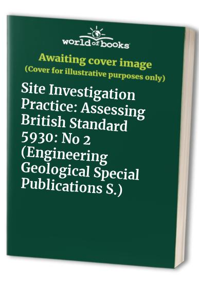 Site Investigation Practice By A.B. Hawkins
