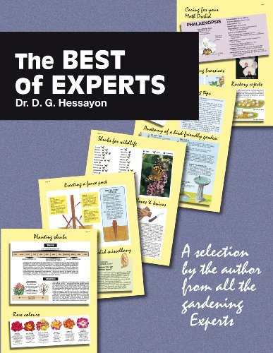 The Best of Experts By D. G. Hessayon