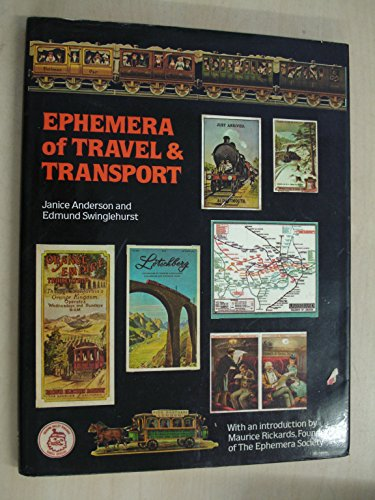 Ephemera of Travel and Transport by Maurice Rickards