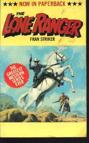 Lone-Ranger-by-Striker-Fran-Paperback-Book-The-Cheap-Fast-Free-Post