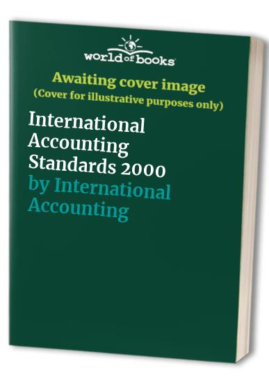 International Accounting Standards By International Accounting Standards Committee