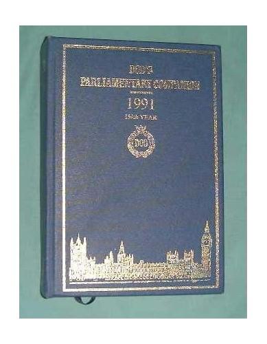 Dod's Parliamentary Companion By Volume editor Michael J. Bedford