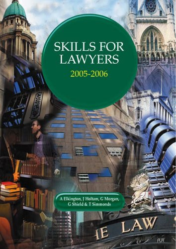 Skills for Lawyers by Elkington
