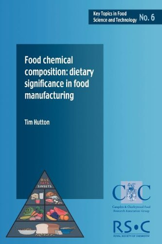 Food Chemical Composition: Dietary Significance in Food Manufacturing (Key Topics in Food Science & Technology) (Key Topics in Food Science & Technology) Prepared for publication by Leighton Jones