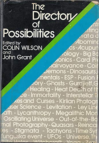 Directory of Possibilities By Colin Wilson