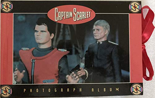 Captain Scarlet Vintage 1998 The Mysterons Photograph Album By ITC Entertainment Shop Stock Room Find