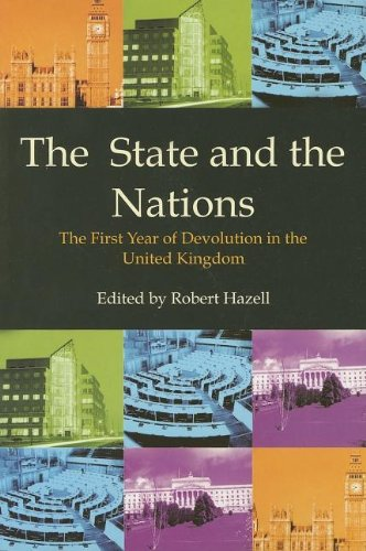 The State and the Nations By Robert Hazell