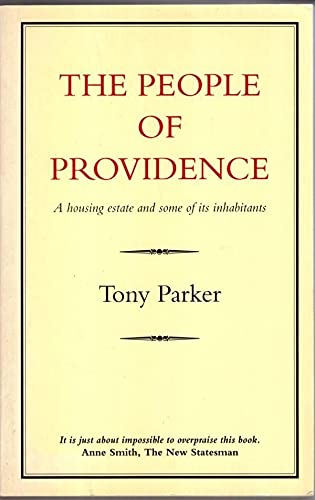 People of Providence By Tony Parker