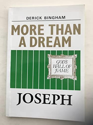 More Than a Dream by Derick Bingham