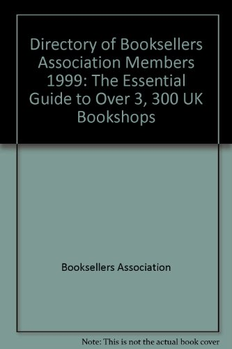 Directory of Booksellers Association Members By Booksellers Association