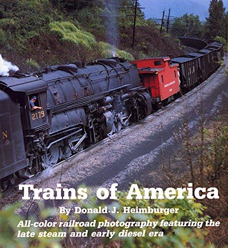 Trains of America By Donald J Heimburger