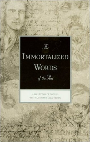 The Immortalized Words of the Past (Rosicrucian Library, Vol 44) By Ralph M. Lewis