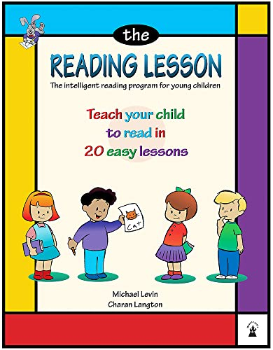 Reading Lesson: Teach Your Child to Read in 20 Easy Lessons By Michael Levin
