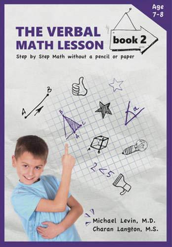 The Verbal Math Lesson Book 2 By Charan Langton