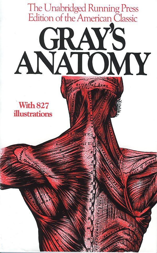 Gray's Anatomy By Henry Gray