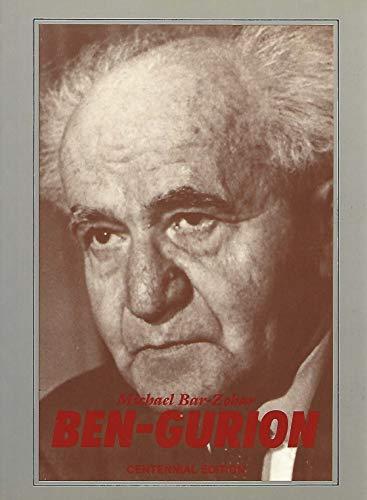 Ben-Gurion By Michael Bar-Zohar